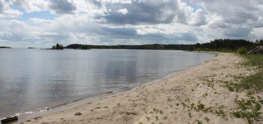 Vätikän ranta Laatokokalla. Kuva: Helena Sulavuori 2009