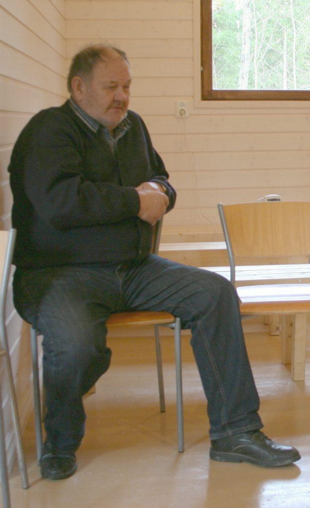 Aarne Räikkönen kirkossaan