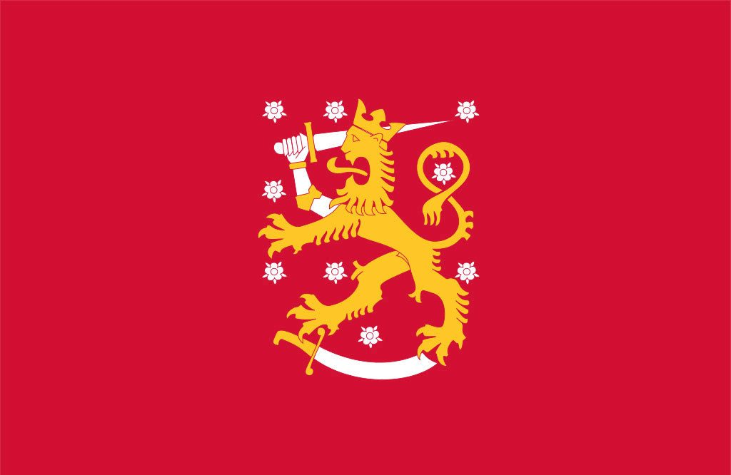 Suomen lippu tammi-touko 1918