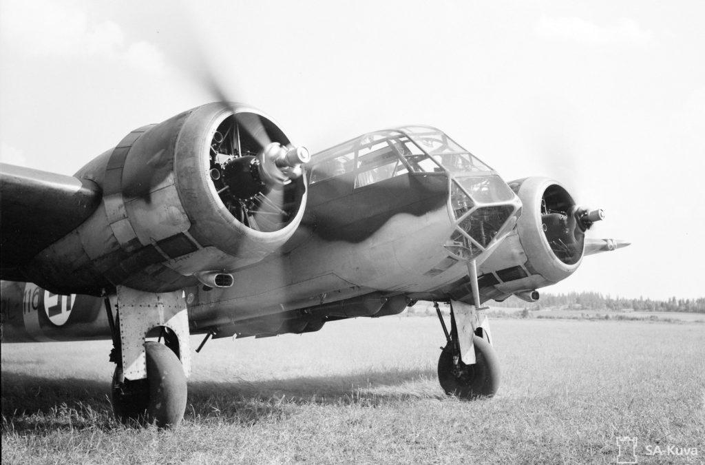 Bristol Blenheim Mk I-pommittaja. SA-kuva.