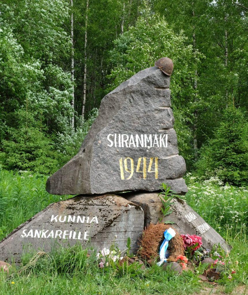 Siiranmäen taistelun muistomerkki. Kuva: Juha Hyvärinen