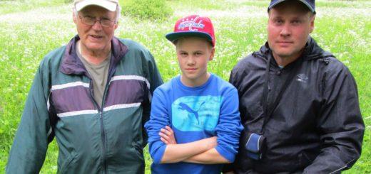 kolme sukupolvea