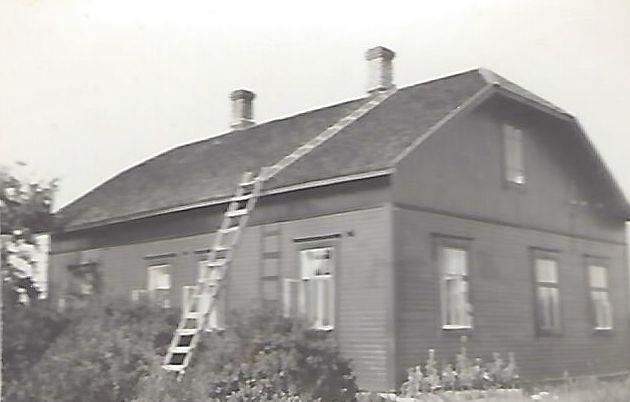 Talo Räihävaarassa - muistojen talo.