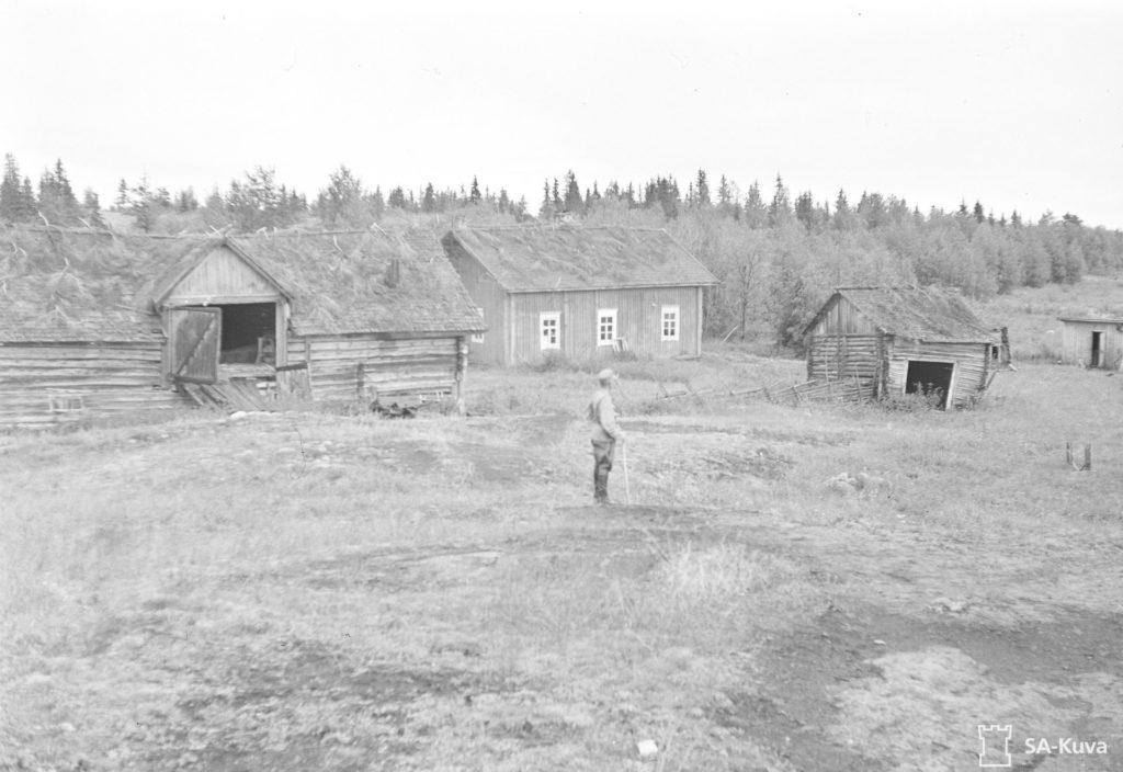 Kalastaja Kukon talo Heinäsenmaalla .
