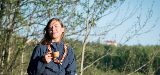 Siiri Somerkeron vapaa-aika kuluu mökkeillen ja luonnossa liikkuen. Kuva: Mikko Roininen