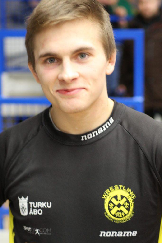 Mattias Poutanen V-S:n paras painija 2020.